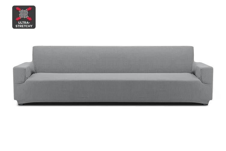 Ovela 4 Seater Sofa Cover Waffle (Grey)