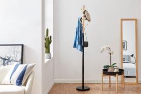 Ovela Wooden Coat Hanger Stand