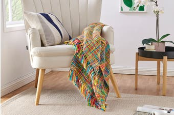 Ovela Oslo Knitted Throw (Tutti Frutti)