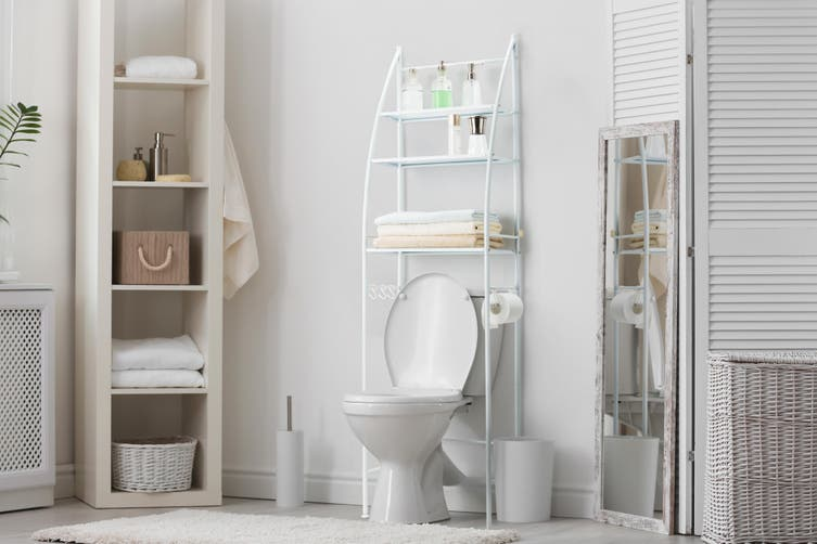 Ovela Over Toilet Storage Rack