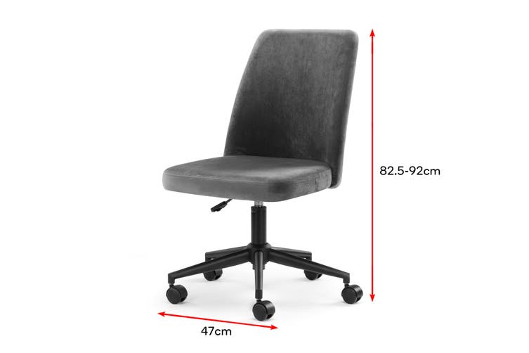 Ovela Wexford Office Chair (Charcoal)