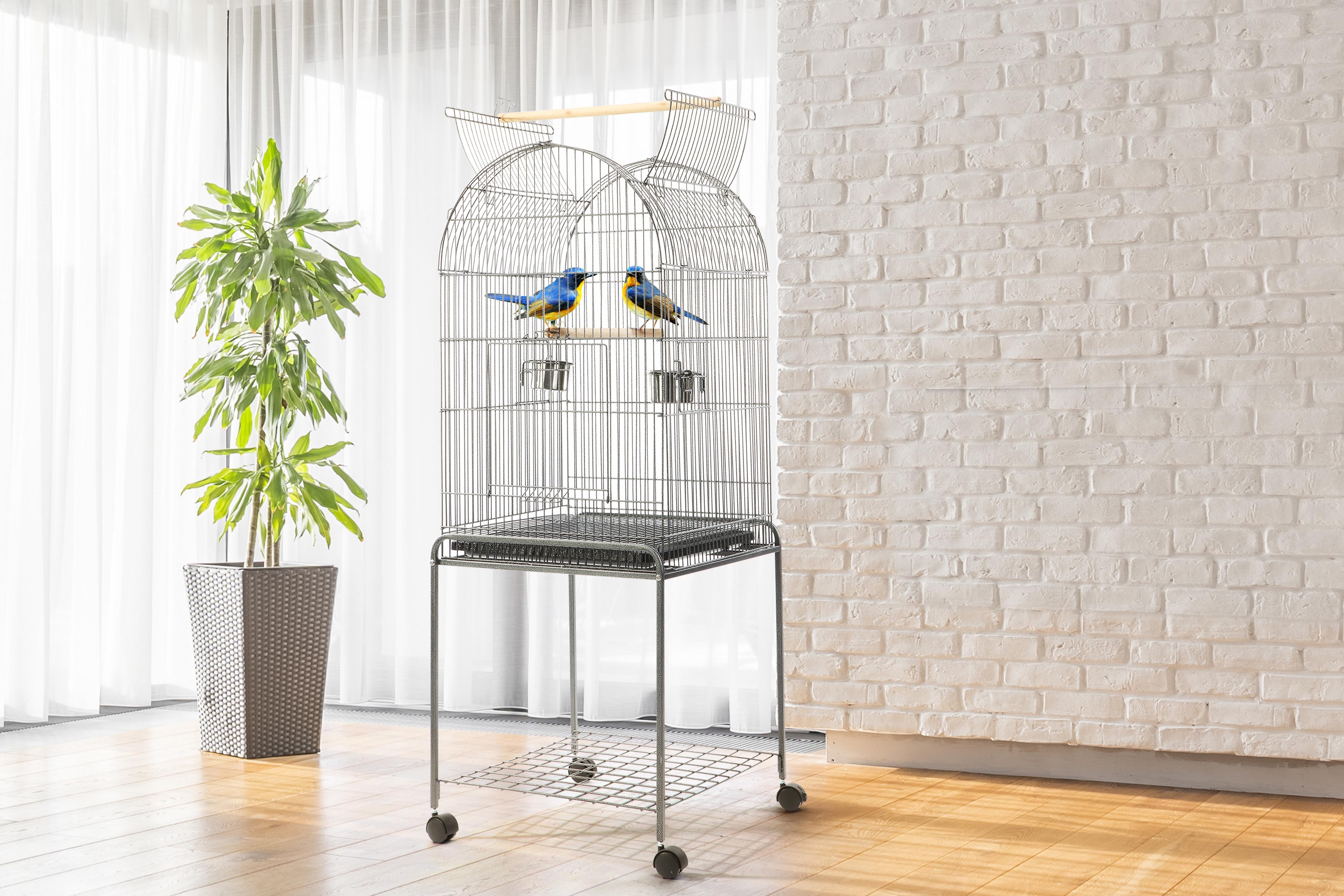 Portable bird cage