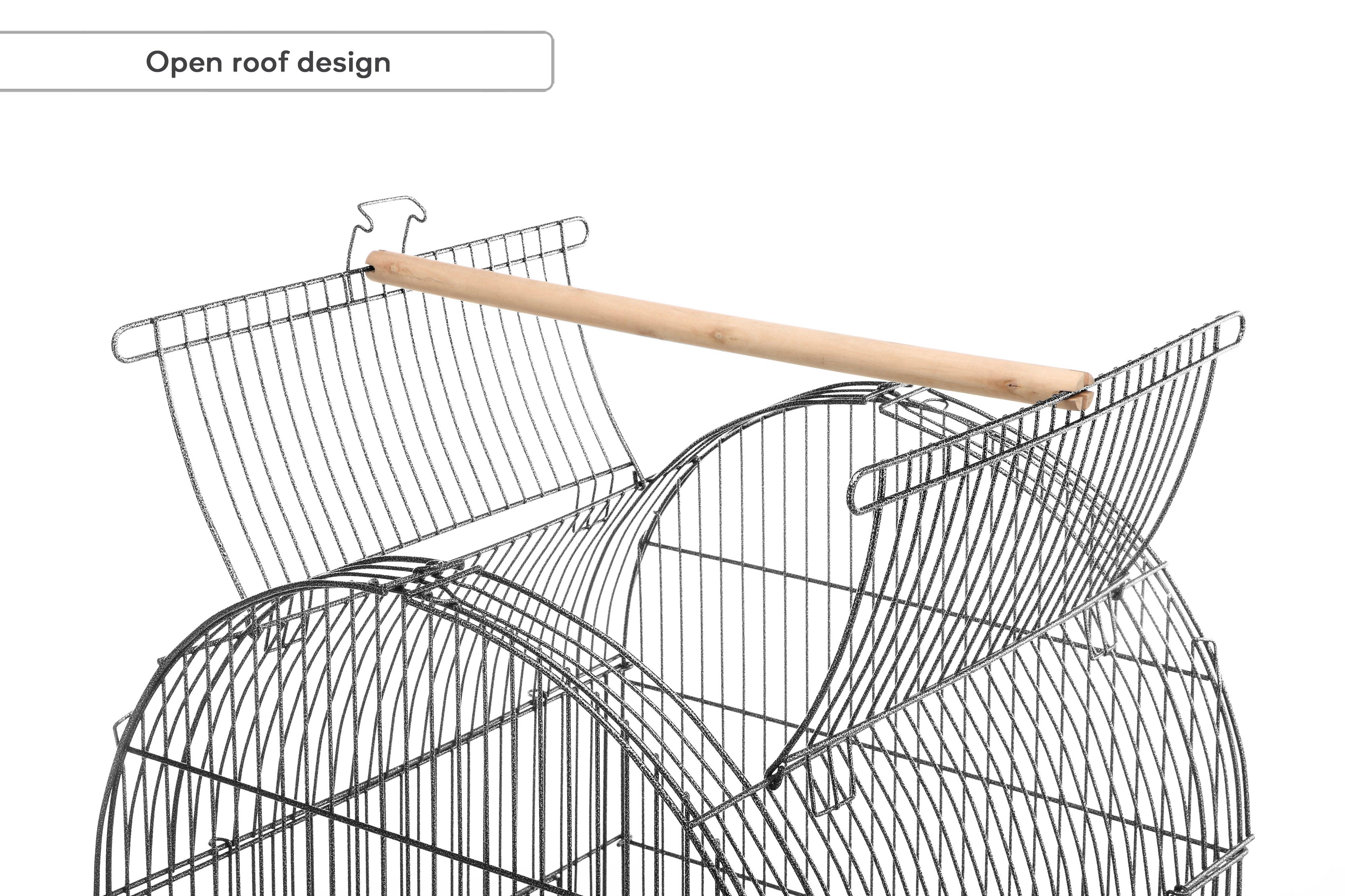 Open roof design
