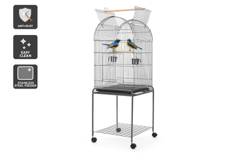 Pawever Pets Wrought Iron Bird Cage 150cm