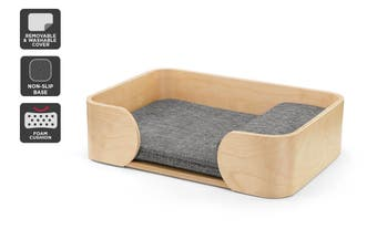 Pawever Pets Scandi Pet Bed with Cushion