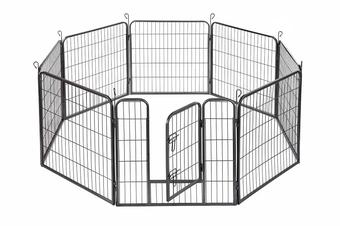 Pawever Pets Premium 8 Panel Metal Pet Playpen