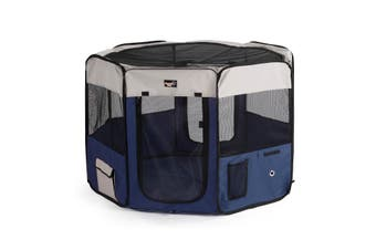 Pawever Pets Portable Soft Pet Playpen (X Large)