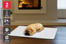 Pawever Pets Self-Heating Pet Mat (2 Pack)
