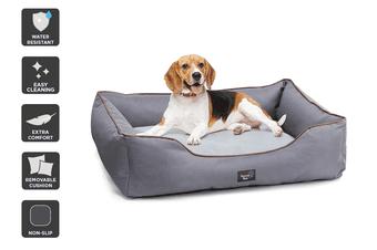 Pawever Pets Anti-Spill Water-Resistant Pet Bed (Medium)