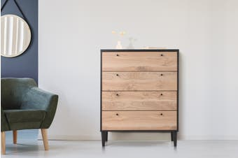 Shangri-La Avalon Chest of Drawers (Oak)