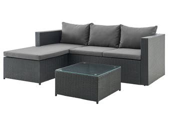 Shangri-La Roberston Outdoor Furniture Lounge Set (Grey)