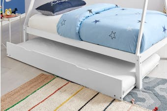 Shangri-La California Trundle Bed (White)