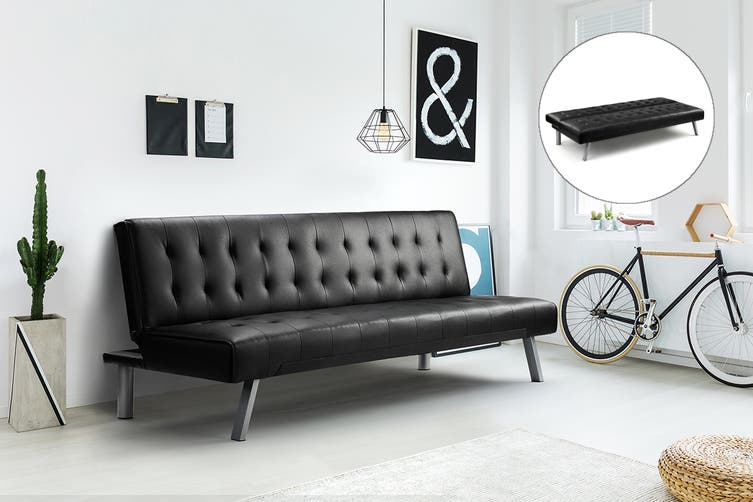Shangri-La Corby Sofa Bed (Black)