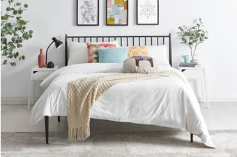 Shangri-La Dallas Bed (Queen, Black)
