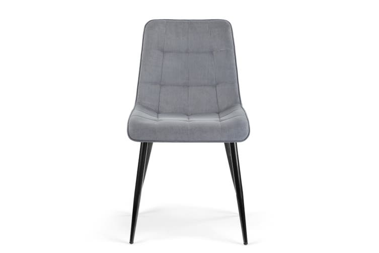 Shangri-La Set of 2 Dover Dining Chair (Charcoal)