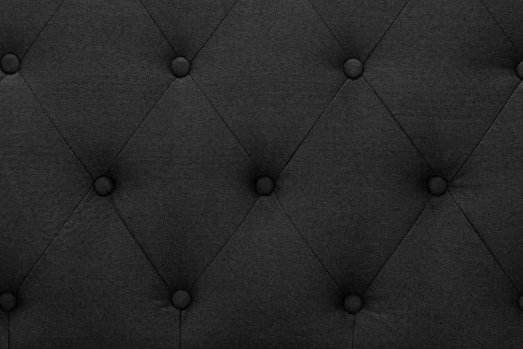 Shangri-La Marseille Storage Bed (Double, Black)