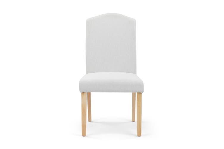 Shangri-La Set of 2 Lyon Dining Chairs (Beige)