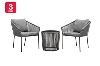 Shangri-La Le Havre 3 Piece Outdoor Furniture Set