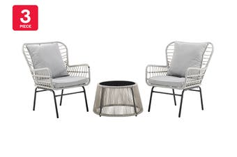 Shangri-La Lilie 3 Piece Outdoor Furniture Set