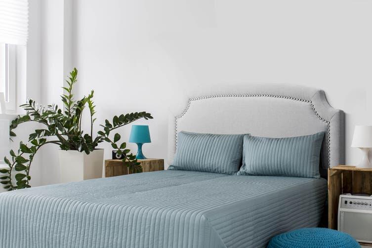 Shangri-La Keira Studded Bed Head (Grey)
