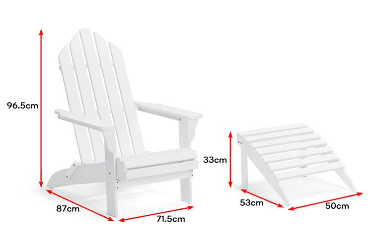 Shangri-La Nottingham Chair (White)