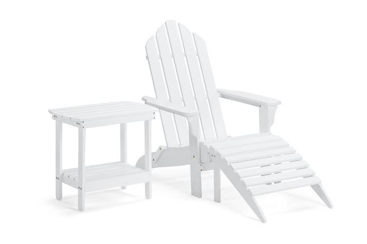 Shangri-La Nottingham Chair Set (White)