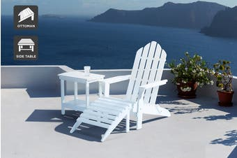 Shangri-La Nottingham Chair Set (White)
