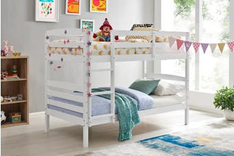 Shangri-La Oakland Bunk Bed (White)