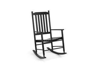 Shangri-La Danby Outdoor Furniture Rocking Chair (Black)