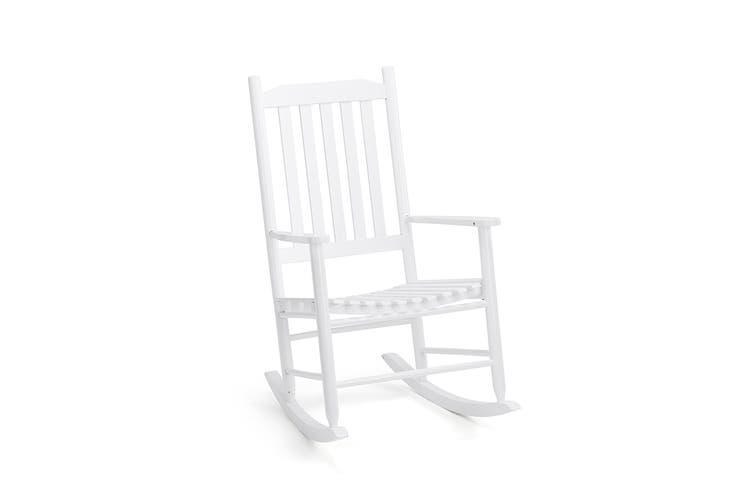 Shangri-La Danby Rocking Chair (White)