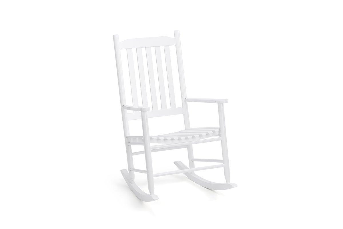 Picture of: Shangri La Danby Outdoor Furniture Rocking Chair White Matt Blatt