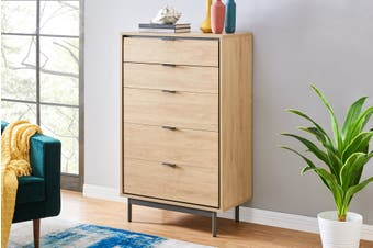 Shangri-La Santos Chest of Drawers (Oak)
