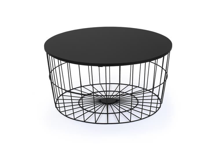Shangri-La Wire Nest Coffee Table (Black)