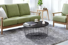 Shangri-La Wire Nest Coffee Table (Black)