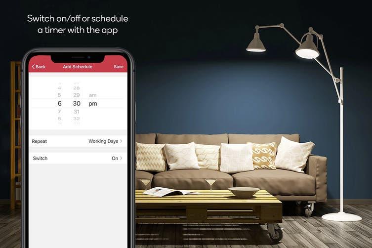 Kogan SmarterHome™ 10W Cool & Warm White Smart Bulb (B22) - 4 Pack