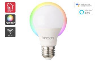 Kogan SmarterHome™ 10W Ambient RGBW Smart Bulb (B22)