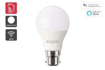 Kogan SmarterHome™ 10W Cool & Warm White Smart Bulb (B22)