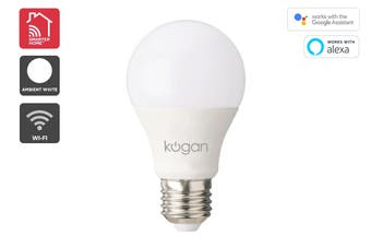 Kogan SmarterHome™ 10W Cool & Warm White Smart Bulb (E27)