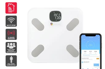 Kogan SmarterHome™ Wi-Fi Body Composition Smart Scale
