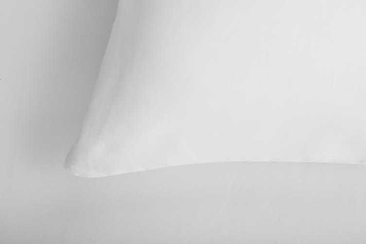 Trafalgar Hotel Quality 1200TC Cotton Rich Bed Sheet Set (Super King, White)