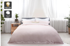 Trafalgar Hotel Quality 1200TC Cotton Rich Quilt Cover Set (King, Blush)
