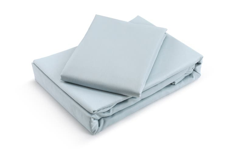 Trafalgar Hotel Quality 1200TC Cotton Rich Quilt Cover Set (King, Blue)