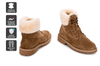 Outback Ugg Outdoor Classic Boot - Premium Sheepskin (Chestnut, Size 8M / 9W US)