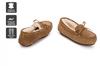 Outback Ugg Moccasins Tirari - Premium Sheepskin (Chestnut, Size 10M / 11W US)