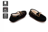 Outback Ugg Moccasins Tirari - Premium Sheepskin (Black, Size 10M / 11W US)