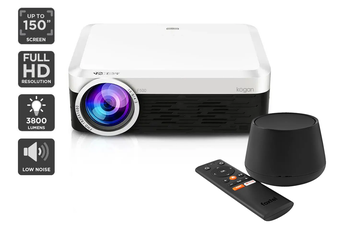 Kogan 3800 Lumens Full HD Projector (F500) + Foxtel Now Box (Netflix Compatible)