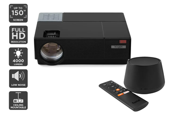 Kogan 4000 Lumens Full HD Projector (F600) + Foxtel Now Box (Netflix Compatible)