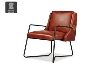 Matt Blatt United Strangers Pilot Chair (Chestnut Brown Leather)