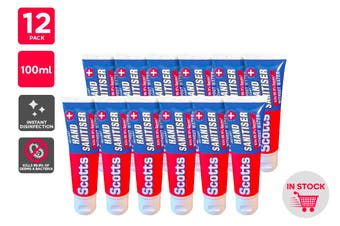 Scotts Instant Hand Sanitiser (100ml) - 12 Pack