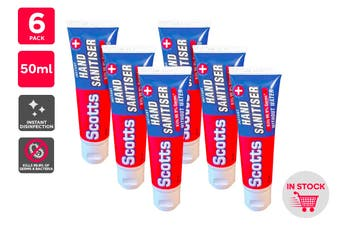 Scotts Instant Hand Sanitiser (50ml) - 6 Pack